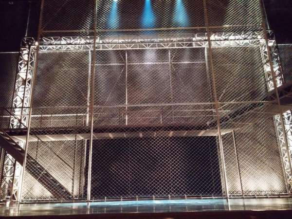 August Wilson Theatre, secção: Orchestra C, fila: D, lugar: 108