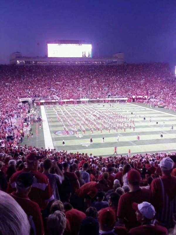 Memorial Stadium (Lincoln), secção: 17, fila: 35, lugar: 25