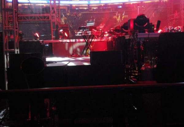 Madison Square Garden, secção: 2, fila: 1, lugar: 1