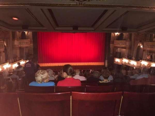 Theatre Royal, secção: Royal Circle, fila: L, lugar: 26