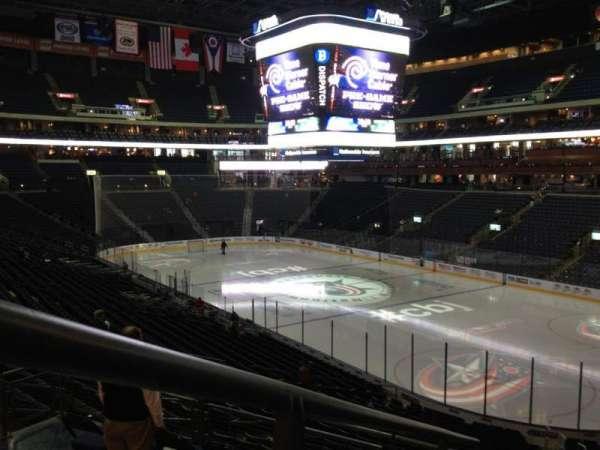 Nationwide Arena, secção: 101, fila: FF, lugar: 6