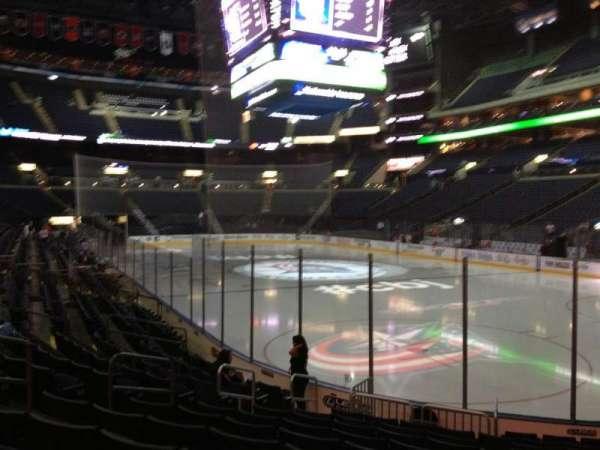 Nationwide Arena, secção: 111, fila: L, lugar: 8