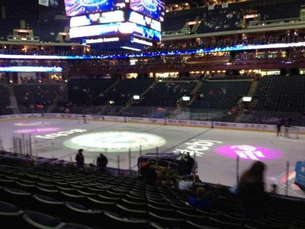Nationwide Arena, secção: 102, fila: U, lugar: 3