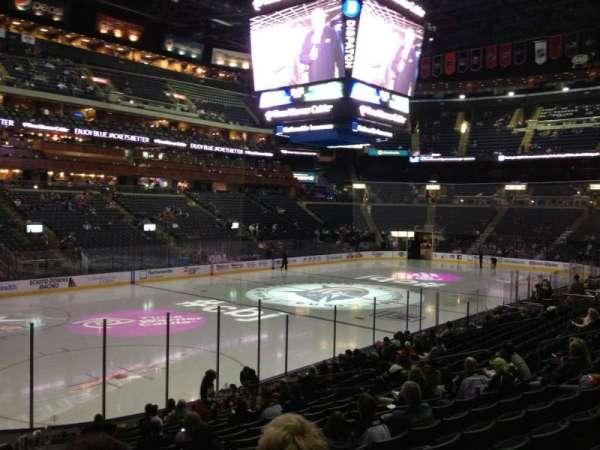 Nationwide Arena, secção: 106, fila: S, lugar: 21