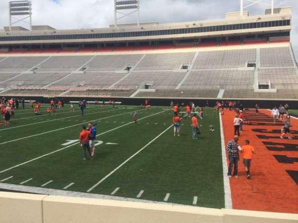 Boone Pickens Stadium, secção: 102, fila: 5, lugar: 1