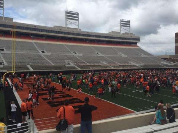 Boone Pickens Stadium, secção: 108, fila: 11, lugar: 22
