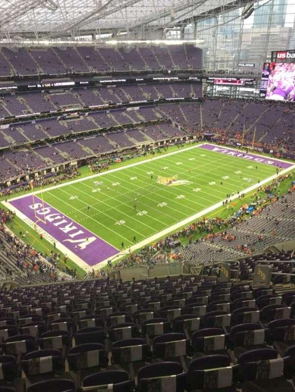U.S. Bank Stadium, secção: 319, fila: 17, lugar: 9