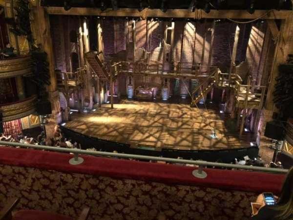 Richard Rodgers Theatre, secção: Front Mezzanine C, fila: C, lugar: 103