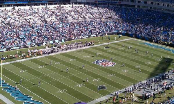 Bank of America Stadium, secção: 551
