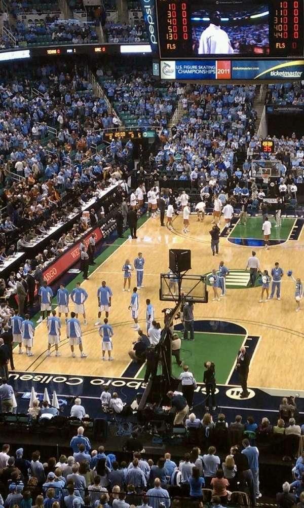 Greensboro Coliseum, secção: 201