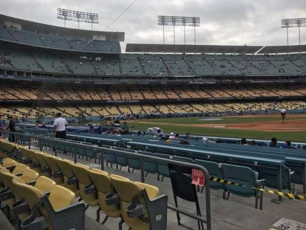 Dodger Stadium, secção: 32FD, fila: C, lugar: 2