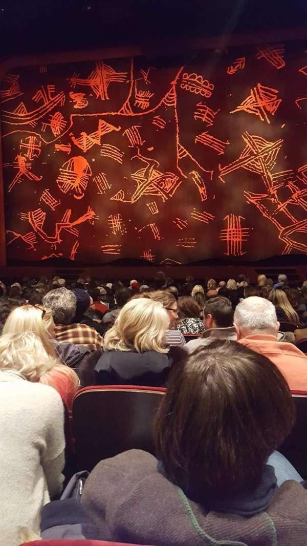 Minskoff Theatre, secção: Orchestra C, fila: O, lugar: 119