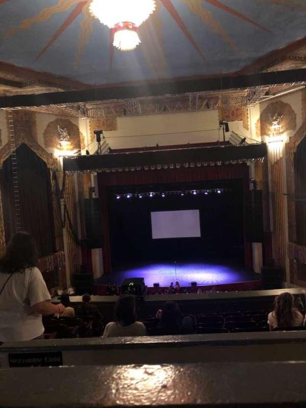 Paramount Theatre (Denver), secção: Balcony C, fila: H, lugar: 10