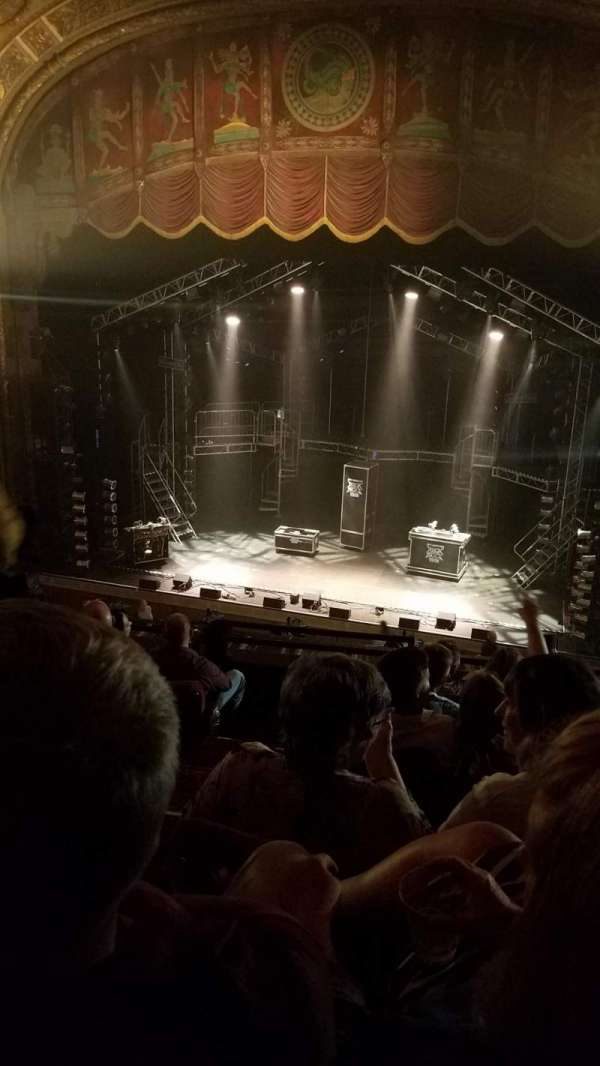 Landmark Theatre (Syracuse), secção: Mezzanine, fila: F, lugar: 4