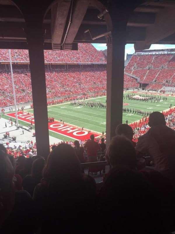 Ohio Stadium, secção: 7B, fila: 11, lugar: 21