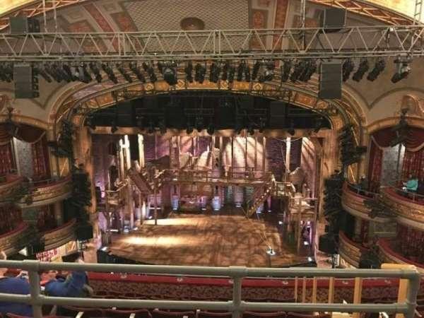 Richard Rodgers Theatre, secção: Rear Mezzanine C, fila: G, lugar: 101,102