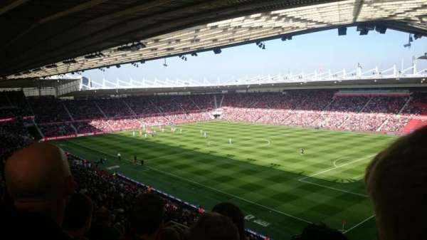 Riverside stadium, secção: 68, fila: 40, lugar: 83