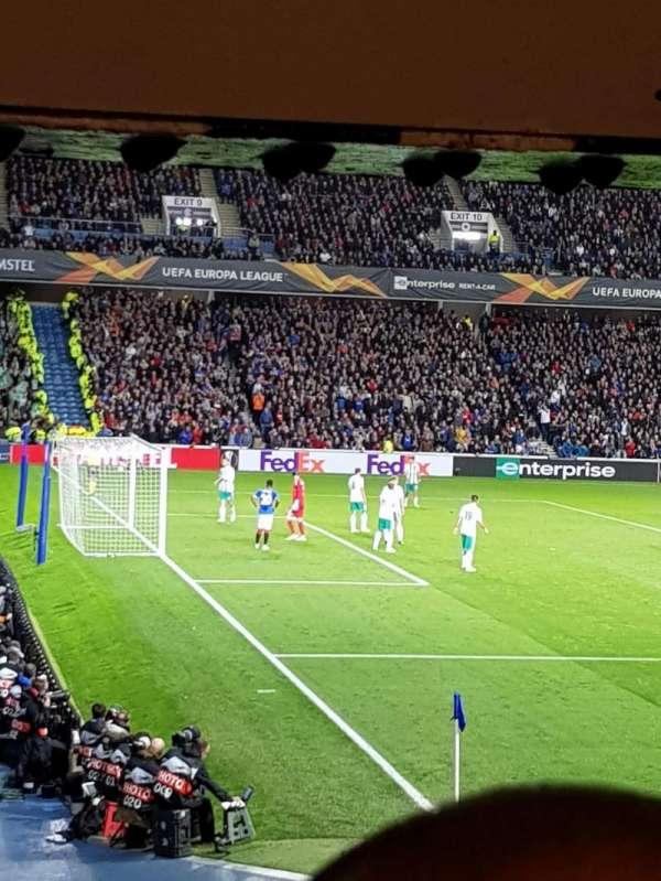 Ibrox Stadium , secção: Sw5, fila: X