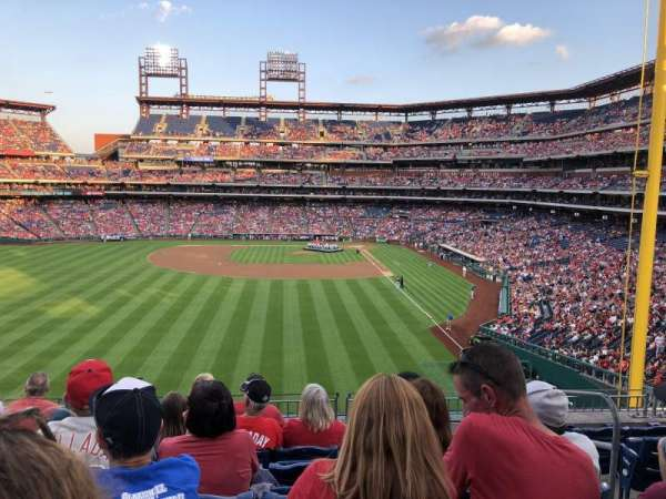 Citizens Bank Park, secção: 242, fila: 7, lugar: 3