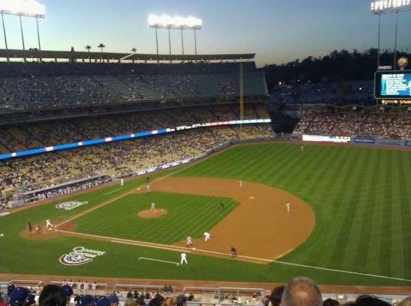 Dodger Stadium, secção: 28RS, fila: L, lugar: 1