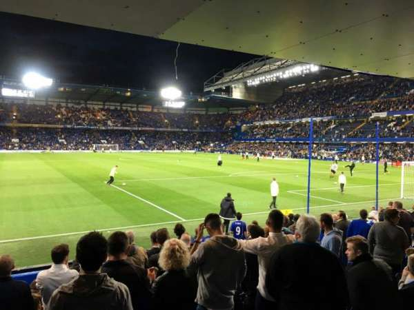 Stamford Bridge, secção: Shed End Lower 6, fila: 13, lugar: 164