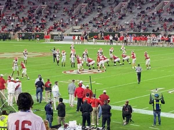 Bryant-Denny Stadium, secção: A, fila: 21, lugar: 13