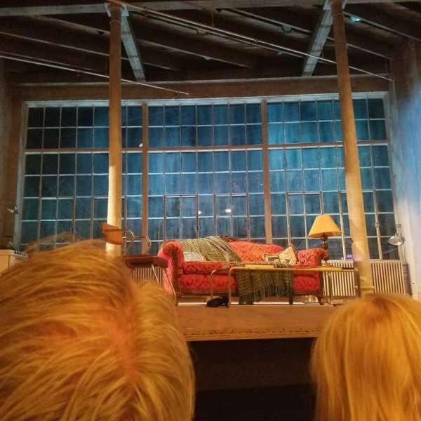 Hudson Theatre, secção: Orchestra C, fila: C, lugar: 104