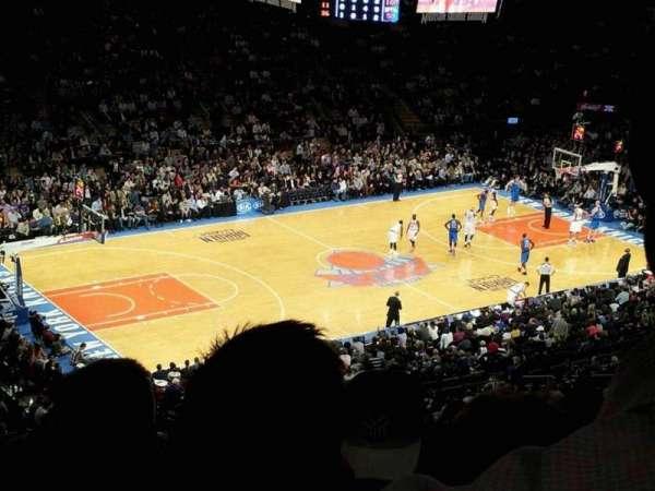 Madison Square Garden, secção: 208, fila: 12, lugar: 18