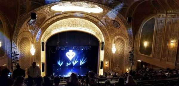 Paramount Theatre (Seattle), secção: Mezzanine 34, fila: z, lugar: 2