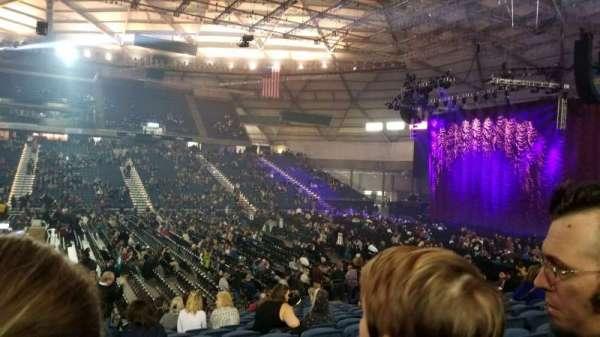 Tacoma Dome, secção: 118, fila: q, lugar: 16