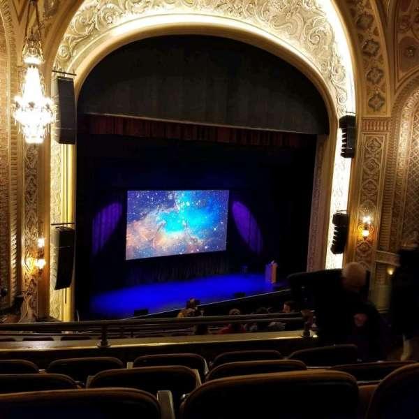 Paramount Theatre (Seattle), secção: mz15, fila: e, lugar: 6