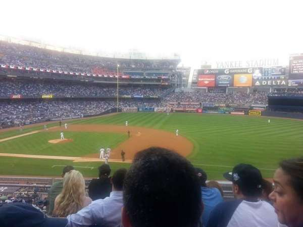 Yankee Stadium, secção: 215, fila: 5, lugar: 6 and 7