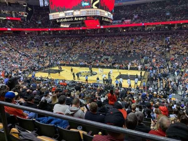 Scotiabank Arena, secção: 118, fila: 24?, lugar: 4?