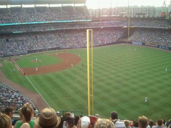 Turner Field, secção: 429, fila: 15, lugar: 7