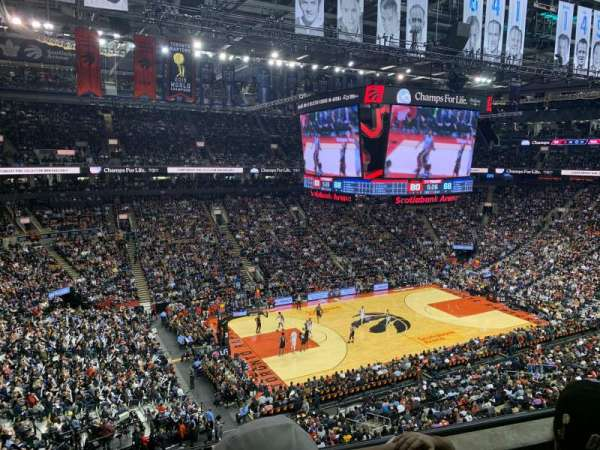 Scotiabank Arena, secção: 311, fila: 3, lugar: 17