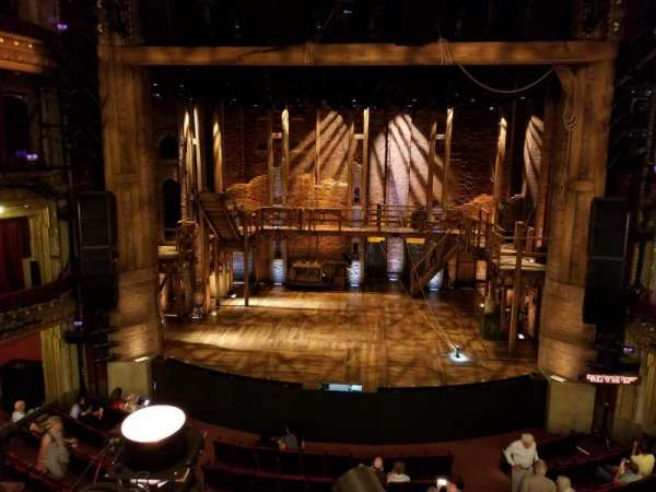 CIBC Theatre, secção: Mezzanine RC, fila: A, lugar: 302