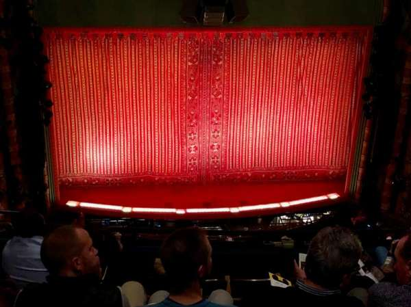 New Amsterdam Theatre, secção: Balcony C, fila: G, lugar: 114