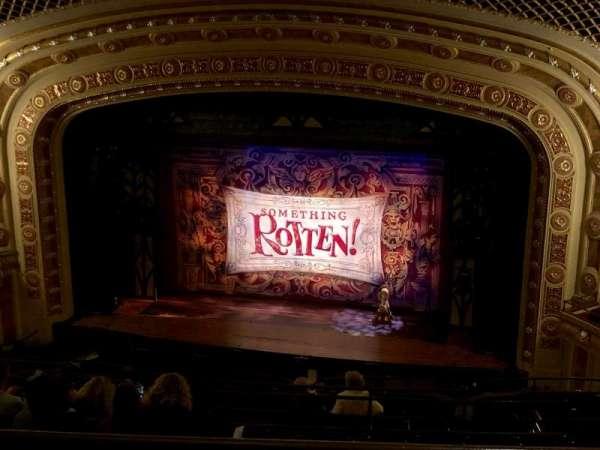 Tivoli Theatre, secção: Upper Balcony Right Center, fila: J, lugar: 108