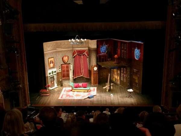 Lyceum Theatre (Broadway), secção: Mezzanine C, fila: G, lugar: 106