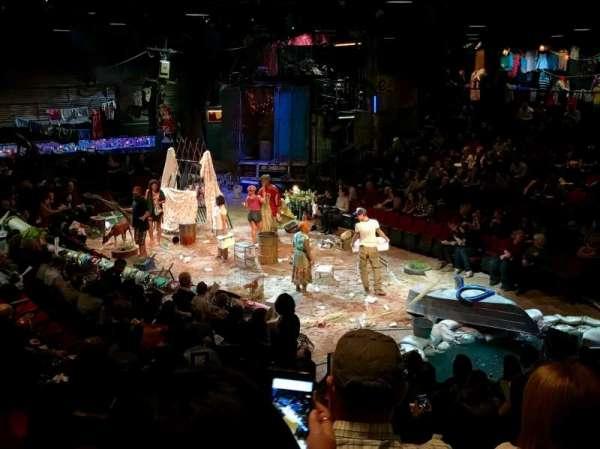Circle in the Square Theatre, secção: Orchestra, fila: K, lugar: 135