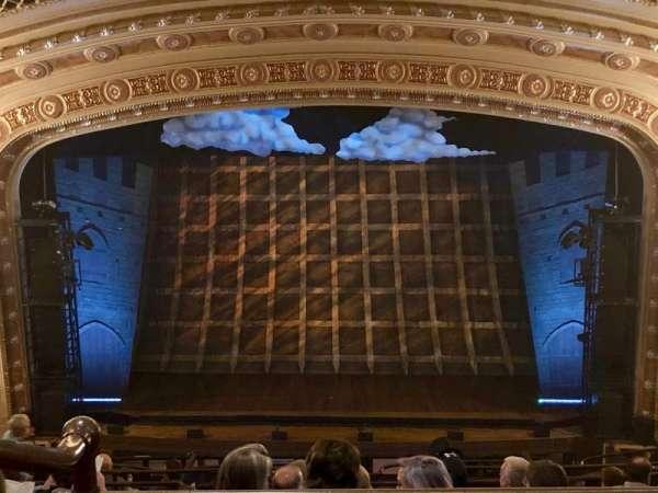 Tivoli Theatre, secção: Upper Balcony Center, fila: K, lugar: 110