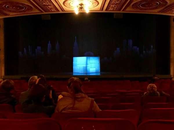 Walter Kerr Theatre, secção: Orchestra C, fila: S, lugar: 106