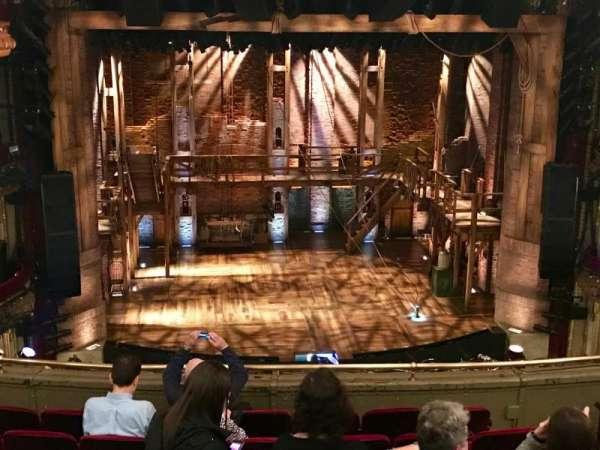 CIBC Theatre, secção: Mezzanine LC, fila: E, lugar: 307