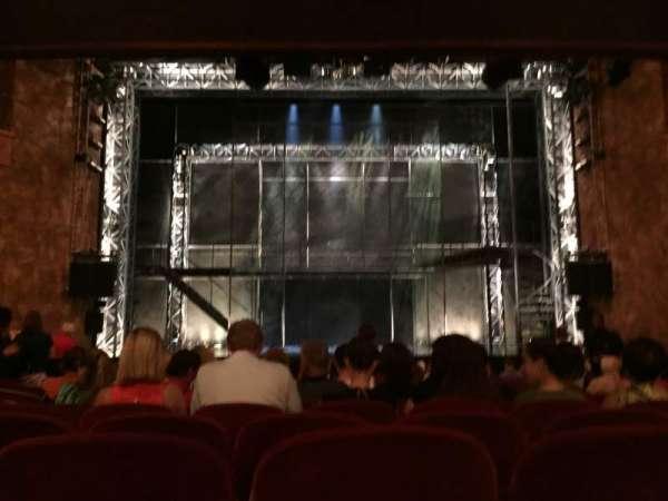 August Wilson Theatre, secção: Orchestra C, fila: R, lugar: 108