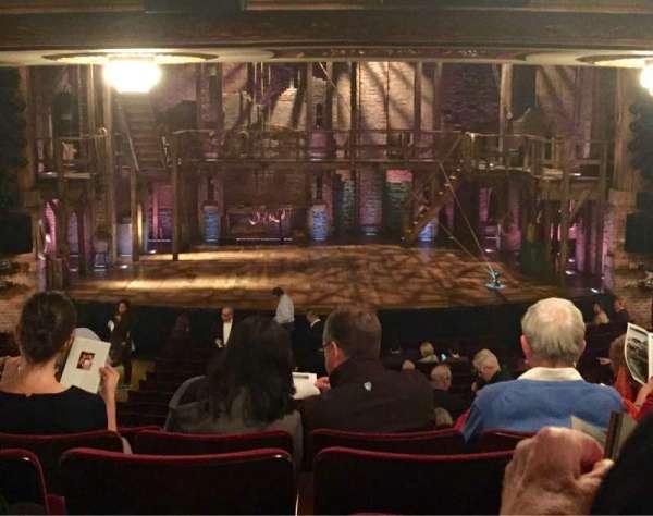 Richard Rodgers Theatre, secção: Orchestra C, fila: V, lugar: 109