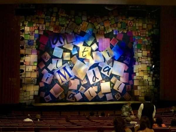 Ahmanson Theatre, secção: Orchestra, fila: Y, lugar: 48