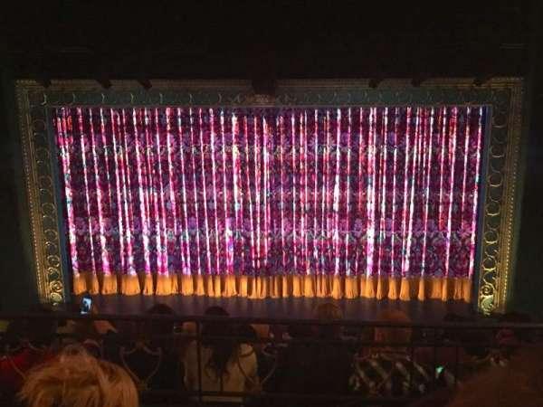 Lunt-Fontanne Theatre, secção: Mezzanine, fila: C, lugar: 106