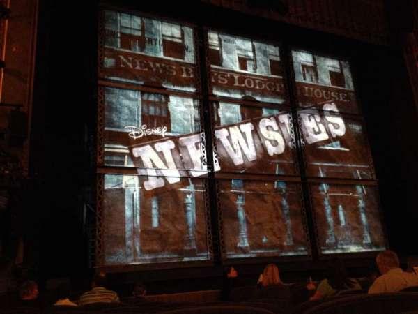 Nederlander Theatre, secção: Orchestra L, fila: K, lugar: 7