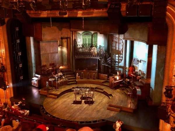 Walter Kerr Theatre, secção: Mezzanine R, fila: G, lugar: 12