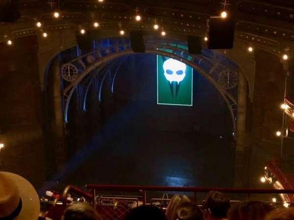 Lyric Theatre, secção: Balcony R, fila: G, lugar: 8